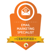 Yvette Sonneveld is een gecertificeerd e-mail marketing specialist